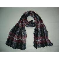 Quality Fashion Checked Viscose Scarf for sale