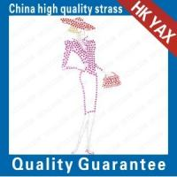 China china portrait-10 patterns hot fix process-girl motifs;accessory wholesale hotfix motifs;good quanlity motif hot fix on sale