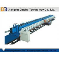 China Automatic Door Frame Roll Forming Machinery With Punching Metal Cr12 on sale