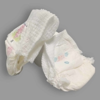 Quality Ultra Thin Small Size Nappy Surper Dry Cotton Overnight Baby Diapers for sale