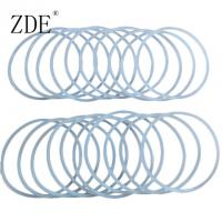 Buy cheap High Temperature Vulcanizing Clear Transparent Silicone O-Ring Stock from wholesalers