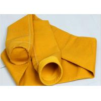 Quality Needle felt micron P84 filter fabric industrial dust collector filter bags for sale