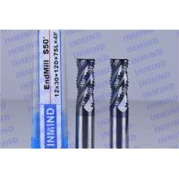 China AlTiN Coating Carbide Roughing End Mills 4 Flute 25 mm Cuttting Length on sale