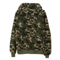 China Cool Style Womens Pullover Hoodie / Blank Camo Sherpa Hoodie Any Size Available on sale
