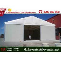 UV resistant PVC Roof  Wedding Tent Fire Retardant , Large Frame Tent For Outdoor camping