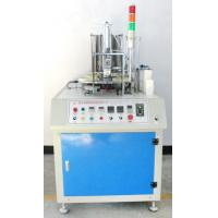 Fully Automatic Paper Cup Making Machine Square 1-6 Inch Speed 40-50pcs/Min Blue White