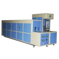Quality 7kw Semi Automatic Plastic PET Stretch Blow Molding Machine for Hot Fill Bottles 6000ML for sale