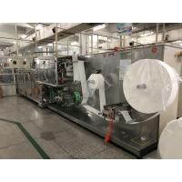 10 In One Wet Wipes Making Machine Production Line GM-082S 30bags/min Stacking Speed