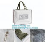 canvas supply unique design handled eco shopping cotton canvas bag black