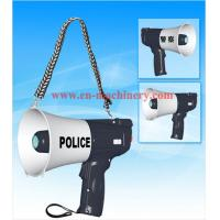 Quality Megaphone CE Certified 45W High Power Car Megaphone with VHF Wireless Microphone for sale