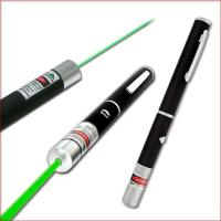 Buy 532nm 200mw green laser pointer green laser pen green laser beam light with five caps at wholesale prices