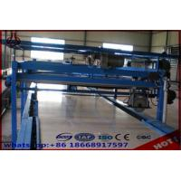 Quality Straw Particle Board Production Line / Laminating Making Machine Free Standing Type for sale