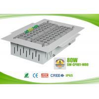 China IP65 80 watts led gas station canopy lights with CREE chip , AC90 - 295V on sale