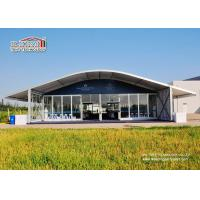 Buy Luxury Outdoor Event Tents 1500 People , Arcum Glass Wall Tent at wholesale prices