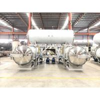 Buy Specializing in the production of stainless steel double pot parallel rotary retort sterilization autoclave at wholesale prices