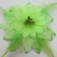 Cute Dance Wear Accessories Realistic Artificial Flowers For Head Waist Decoration