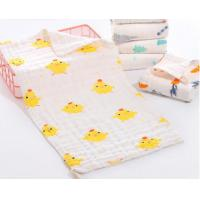 Quality Super Soft Face Bath Towel Organic Washcloths Burp Cloth Sweet Printed Design for sale