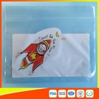 Buy cheap Multi Color PE Custom Printed Ziplock Bags Resealable For Grocery Packing product