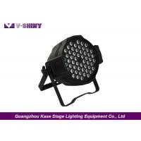 Buy cheap Ultra Brightness 54pcs x 3w Rgb 3-in-1 Led Die Cast Par Light For Stage Event from wholesalers