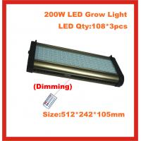 Quality 2 channel independent control, double spectrum LED Grow Lights , Cidly 200W, growing lamp for sale