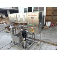 Pharmaceutical RO Water Treatment System Stainless Steel 3 Phase For Injection