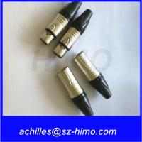 China male and female 3pin XLR cable Neutrik connector on sale