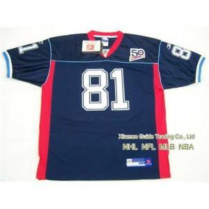 New NFL Buffalo Bills #81 Terrell Owens Blue Jersey