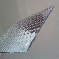 China No Odor Bubble Foil Insulation , Reflective Aluminum Bubble Insulation on sale