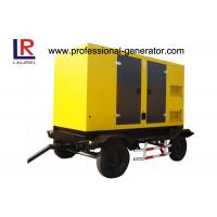 Quality Trailer Type Diesel Generating Mobile Power Generator 100kva 80kw Soundproof with CUMMINS Engine for sale