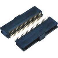 China Double Low 44-60 Pins , 10 Pin Header SMT Female Pin Headers With Cap  LCP Plastic on sale