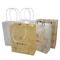 Quality Twist Handle Paper Bag with Logo Print for sale