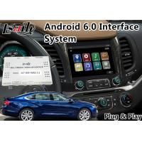 Quality Android 6.0 Car Multimedia Navigation System for Chevrolet Impala / Colorado Mylink System 2015-2018 for sale