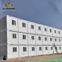 China Mobile Mining Workers Accomodation Sandwich Panel Container House on sale