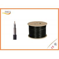 Low Standing Wave Ratio RG Coaxial Cable , Low Loss RG174 U Coaxial Cable