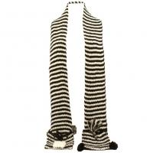 Quality fashional pretty cute super warm soft elegant popular animal pocket scarf for sale