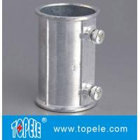 Quality EMT Set Screw Coupling,  Electrical Conduit Fittings Zinc Coupling/Flexible Metal Conduit Fitting Low F for sale