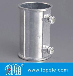 Quality EMT Set Screw Coupling, Zinc / Aluminum , Electrical Conduit Fittings Zinc Coupling for sale