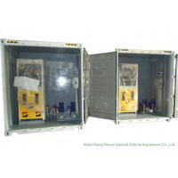 Buy ISO Standard Mobile Gasoline Station Tank Container 20 FT 10000 -20000 Liters at wholesale prices