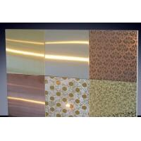 Quality 300 Series Decorative Colored Stainless Steel Sheets 0.3mm - 200mm Thickness for sale