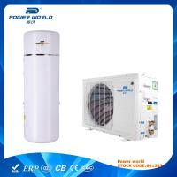 Quality Household Split Air Source Heat Pumps Hot Water With Pressurized Water Tank for sale
