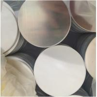 Quality Commercial T AA1050 Aluminium Round Plate , Aluminium Discs O H22 H24 for sale