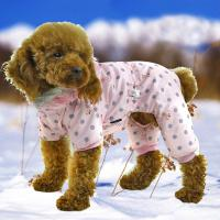 China waterproof spots dog clothes for winter on sale