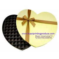 Quality Shinning Haert-Shaped Chocolate Boxes for sale