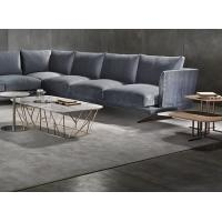 China Soft Living Room Fabric Modern Sectional Sofa With Solid Wood Frame Multi Seats on sale