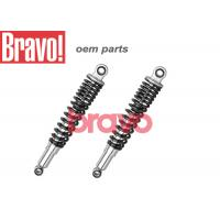 Quality Black Titan 150 Motorcycle Rear Shock Absorbers With Chromed Cylinder for sale