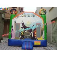 Buy cheap Children Shrek Slide Inflatable King of the Castles Bouncy Castles for Commercial,Home use product