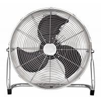 China 220 - 240V 18 Inch Retro Floor Fan High Velocity With 3 Aluminum Blade on sale