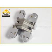 Quality Professional Small Hidden Closet Door Hinges Right Or Left Hand Applicable for sale