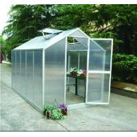 Quality best seller transparent panel with aluminium greenhouse kits HX75914G for sale