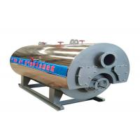 Horizontal Type Diesel Fired Steam Boiler Fire Tube Structure 3.6kw Total Power